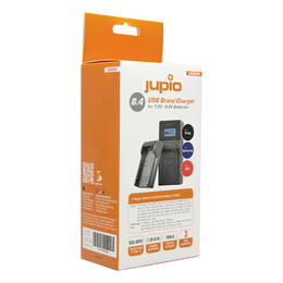 Jupio USB Universal Charger for JVC/Samsung/Sony LSO0038