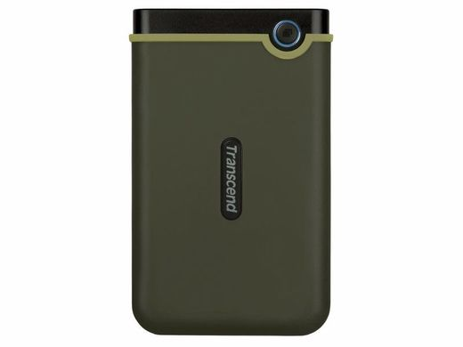 TRANSCEND Storejet 25M3G Slim HDD (USB 3.1)  2TB (shock proof)