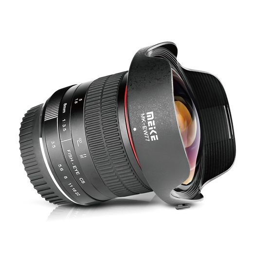 Meike 8mm f/3.5 Ultra Wide Angle Fisheye, Fuji X