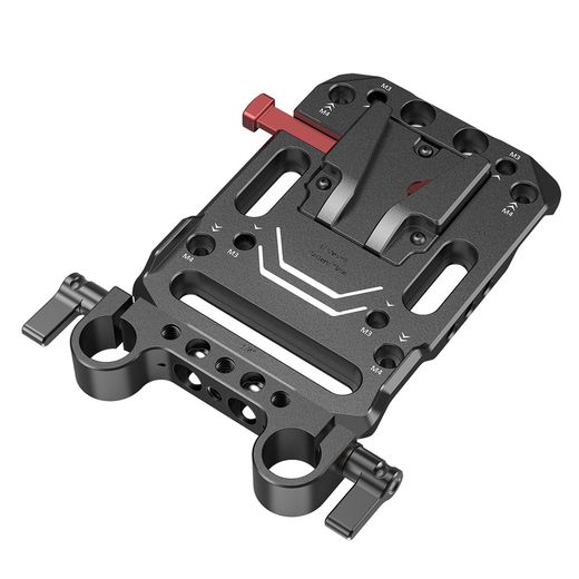 SmallRig Battery Plate V-Mount w Rod Clamp 3016