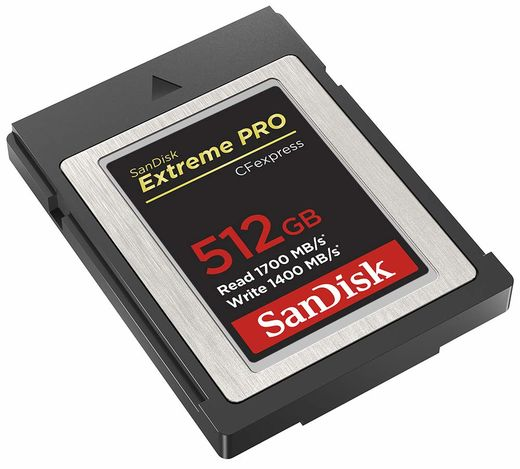 SanDisk Extreme Pro CFexpress Type B 512GB