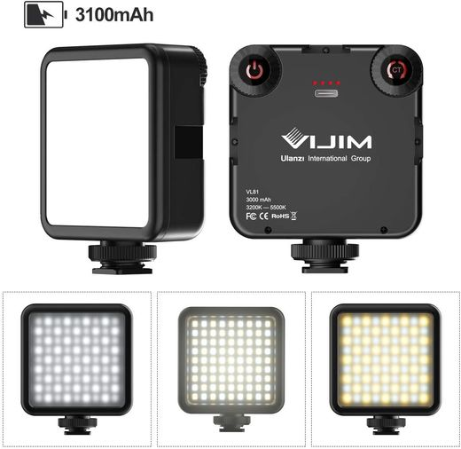 Ulanzi  VIJIM VL81 Mini Bi-color LED Video Light