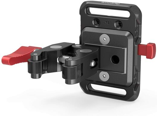 SmallRig Mini V Mount Battery Plate with Clamp 2989