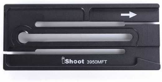 iShoot IS3950MFT Plate Adapter for Manfrotto 501PL