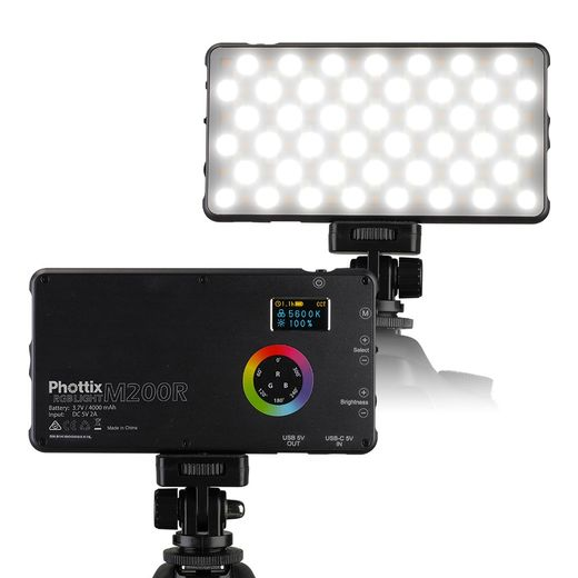 Phottix M200R RGB Light