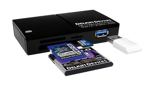 Delkin Devices USB 3.0 Multi-Slot CFast 2.0