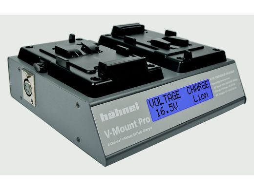 OUTLET Hähnel V-Mount Pro 2-channel V-mount Battery Charger