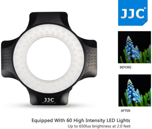 JJC LED-60 Macro LED Ring Light