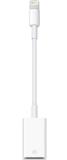 Apple Lightning - USB Adapteri / Kamerasovitin