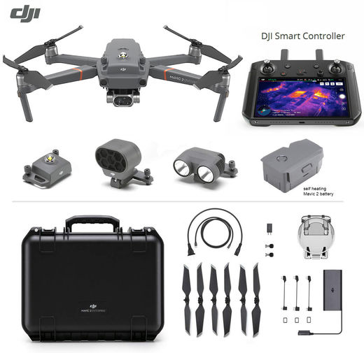 DJI Mavic 2 Enterprise DUAL with DJI Smart Controller