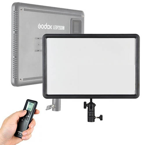 Godox / Quadralite Edge-LED Video Light LEDP260C + remote
