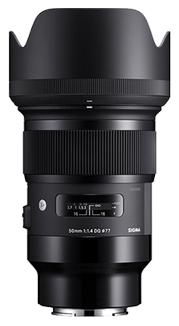 Sigma 50mm F1.4 DG Art Series HSM, Sony E