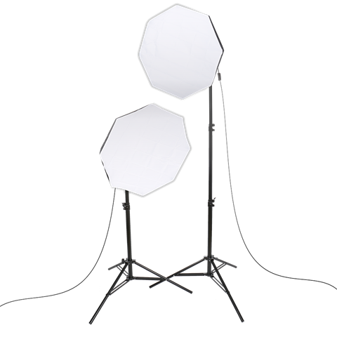 Studioking Daylight Kit PK-SB608K 2x85W
