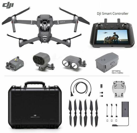 DJI Mavic 2 Enterprise Universal (ZOOM) Edition with DJI Smart Controller
